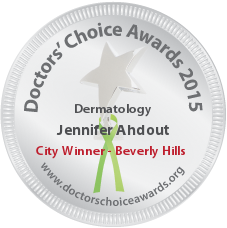 Jennifer Ahdout, MD – Spalding Drive Plastic Surgery - Award Winner Badge