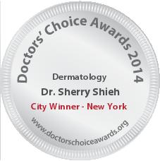 Sherry Shieh, MD - Award Winner Badge