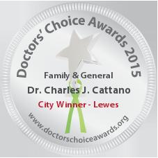 Charles J. Cattano, MD, FACP, FACG, AGAF - Award Winner Badge