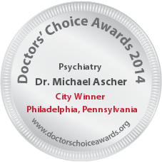 Dr. Michael Ascher - Award Winner Badge