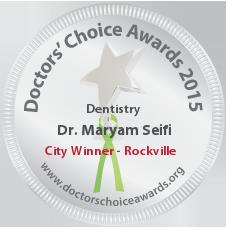 Dr. Maryam Seifi - Award Winner Badge