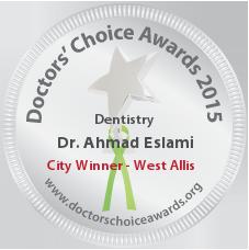 Ahmad Eslami, DMD, MS - Award Winner Badge