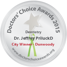 Jeffrey Priluck, DMD, MAGD, FAAID & Albert P Nordone, DDS - Award Winner Badge