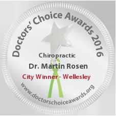 Dr. Martin Rosen - Award Winner Badge