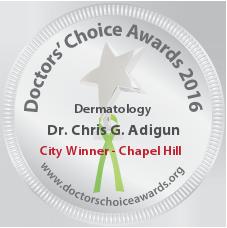 Dr. Chris G. Adigun - Award Winner Badge