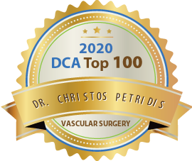 Dr. Christos Petridis - Award Winner Badge