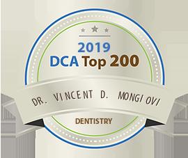Vincent D. Mongiovi, DMD - Award Winner Badge
