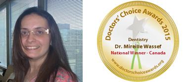 National Winner 2015 - Dr. Mireille Wassef
