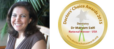 National Winner 2015 - Dr. Maryam Seifi