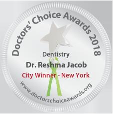Dr. Reshma Jacob - Award Winner Badge