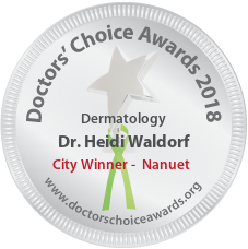 Dr. Heidi Waldorf - Award Winner Badge