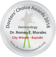 Dr. Romeo E. Morales - Award Winner Badge