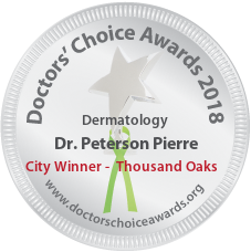 Dr. Peterson Pierre - Award Winner Badge