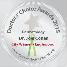 Dr. Joel Cohen - Award Winner Badge
