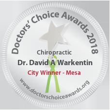 Dr. David A Warkentin - Award Winner Badge