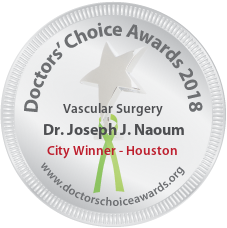 Dr. Joseph J. Naoum - Award Winner Badge