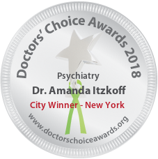 Dr. Amanda Itzkoff - Award Winner Badge