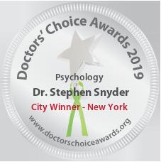 Dr. Stephen Snyder - Award Winner Badge