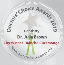 Dr. Julia Brown - Award Winner Badge