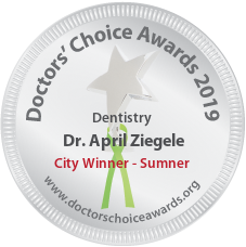 Dr. April Ziegele - Award Winner Badge