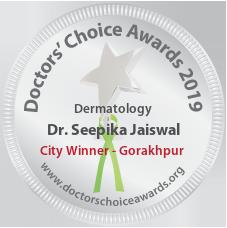 Dr. Seepika Jaiswal - Award Winner Badge