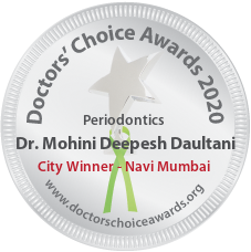 Dr. Mohini Deepesh Daultani - Award Winner Badge
