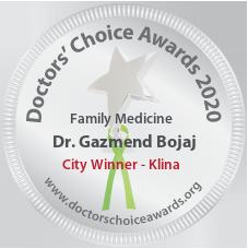 Dr. Gazmend Bojaj - Award Winner Badge