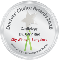 Dr. GVP Rao - Award Winner Badge