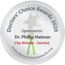 Dr. Phillip Haiman - Award Winner Badge