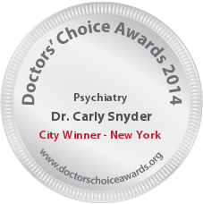 Dr. Carly Snyder - Award Winner Badge