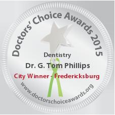 G. Tom Phillips, DDS - Award Winner Badge