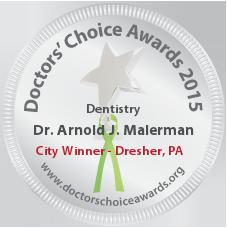 Dr. Arnold J. Malerman - Award Winner Badge