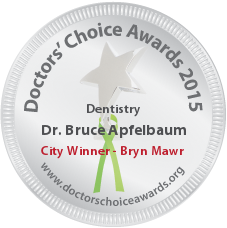 Bruce Apfelbaum, DMD - Award Winner Badge