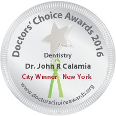 Dr. John R Calamia - Award Winner Badge
