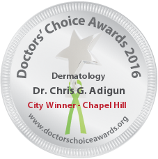 Dr. Chris G. Adigun - Award Winner Badge