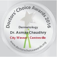 Dr. Asmaa Chaudhry - Award Winner Badge