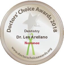 Dr. Leo Arellano – Dentist in San Francisco, CA - Nominee Badge