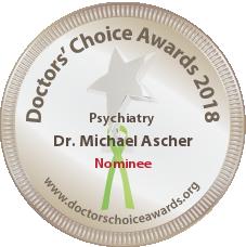 Dr. Michael Ascher - Nominee Badge