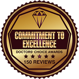 Dr. Sejal Shah - Commitment To Excellence Badge