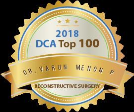 Dr.Varun Menon P - Award Winner Badge