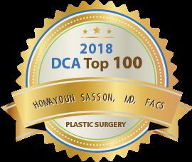 Dr. Homayoun Sasson - Award Winner Badge
