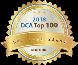 Dr. John Sands - Award Winner Badge