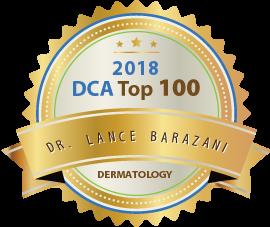 Dr. Lance Barazani - Award Winner Badge