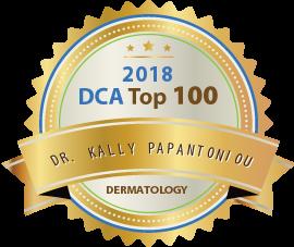 Dr. Kally Papantoniou - Award Winner Badge