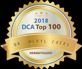 Dr. Meryl Joerg - Award Winner Badge