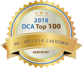 Dr. Brijesh Chandwani - Award Winner Badge