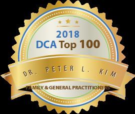 Dr. Peter L. Kim - Award Winner Badge
