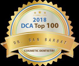 Dr. Ban Barbat - Award Winner Badge