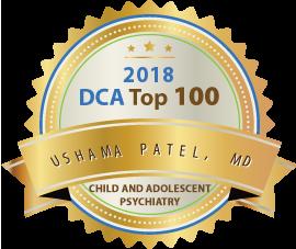 Ushama Patel, MD - Award Winner Badge