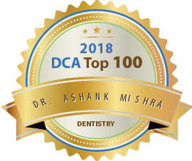 Dr. Ashank Mishra - Award Winner Badge